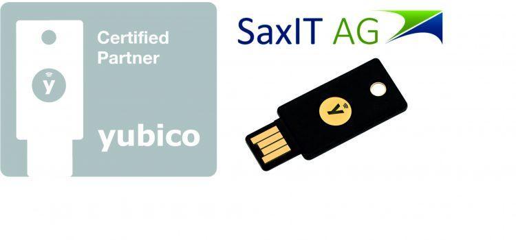 Yubico Partner SaxIT